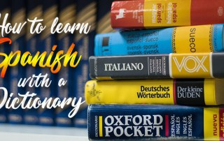 How to learn spanish by dictionary