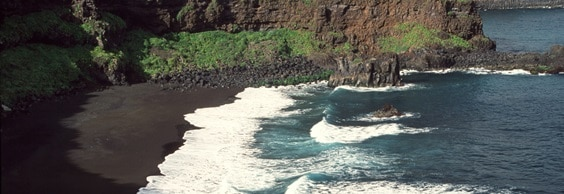 black sand beach tenerife
