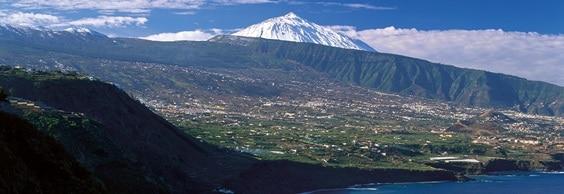 Tenerife Island Landscape Teide and Beach