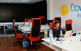 Oficina de coworking