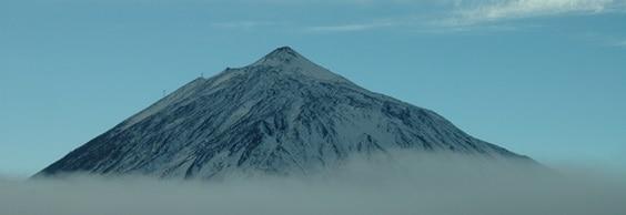 Teide with snow