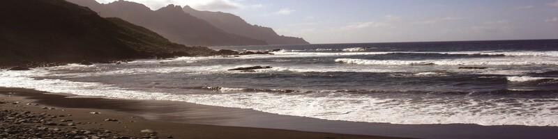 Tenerife Volcanic Beach