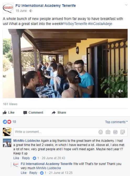 Comentario de estudiante
