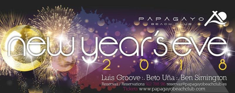 New Years Eve 2018 at Papayago