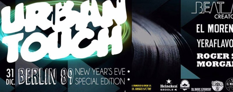 Urban Touch New Years Eve
