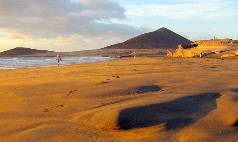 El Medano - best beach in Tenerife