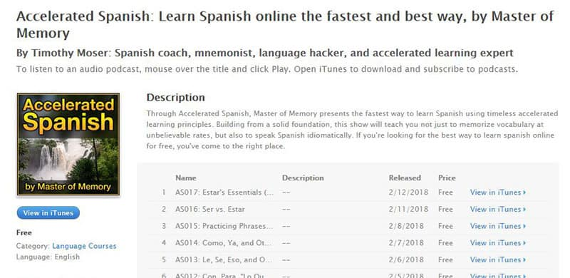 Accelerated Spanish