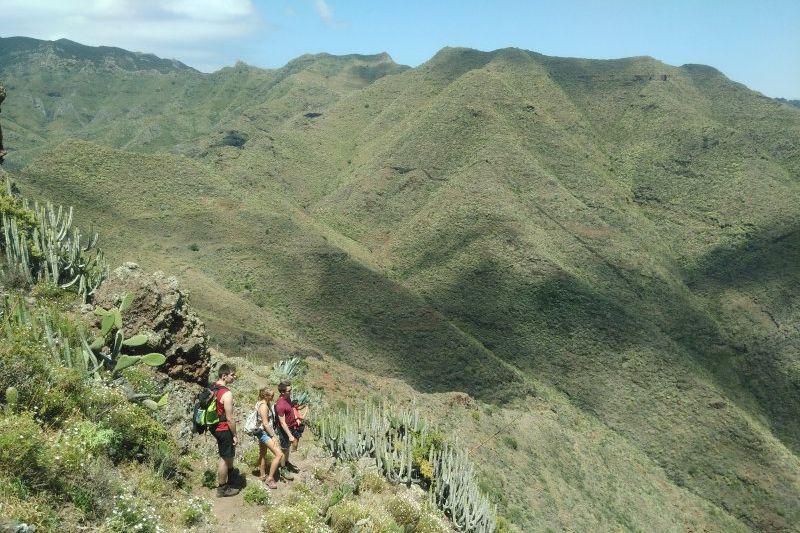 Anaga mountains Tenerife