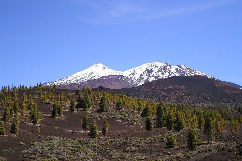 snowy mountains tenerife