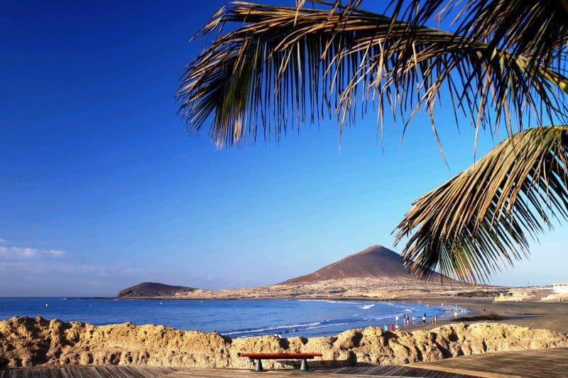 El Medano beach Tenerife