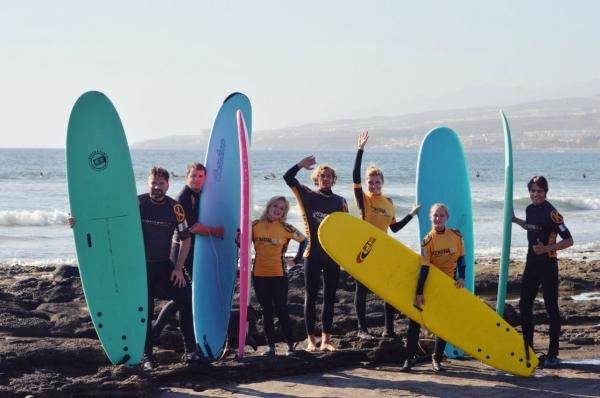 temps libre surf