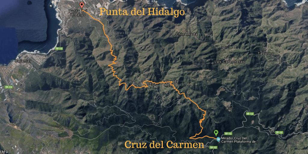 Cruz del Carmen Hike
