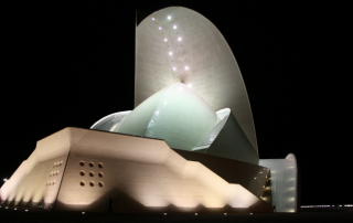 Auditorio de Tenerife by night