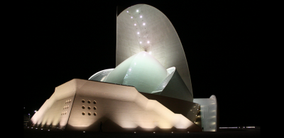 Auditorio de Tenerife by night