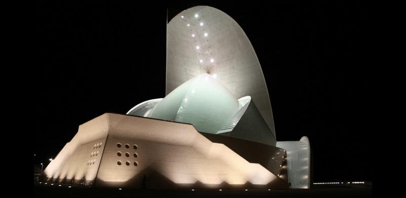 Auditorio de Tenerife bei nacht