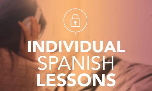 Individual Spanish Lessons
