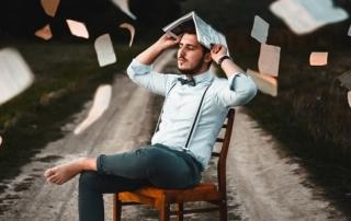 Herumfliegende Bücher