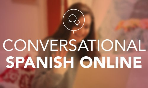 Spanish conversation online classes