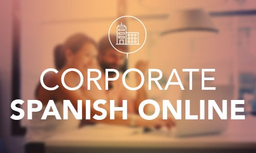 corporate Spanish training online