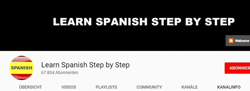 Spanish step by step