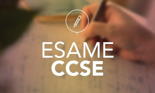 Esame CCSE