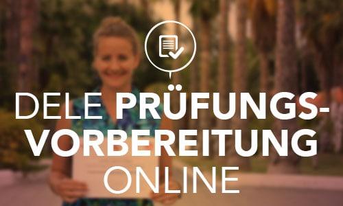 DELE Prüfungsvorbereitung Online
