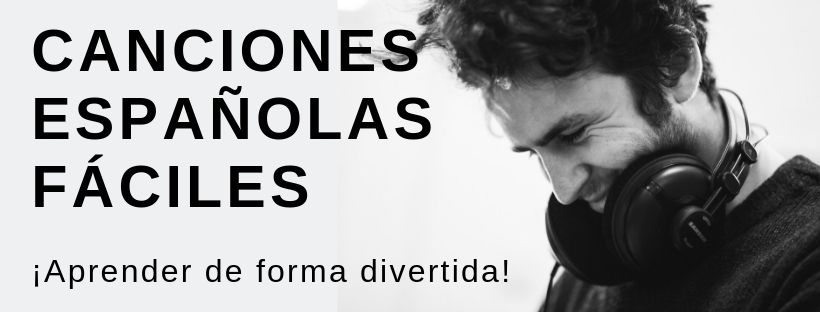 Canciones españolas faciles