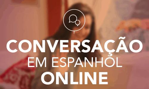 Aulas online de conversação em espanhol