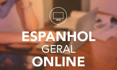 Aulas online de espanhol geral