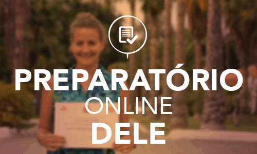 Aula online de preparação para o DELE